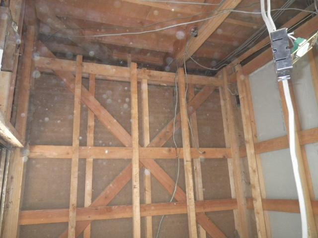 浴室・脱衣所の解体をさせて頂きました/浴室リフォーム2日目<氷見市南部>
