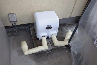 井戸ポンプを交換しました