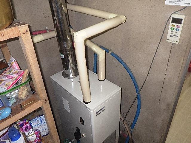 灯油ボイラーを交換しました