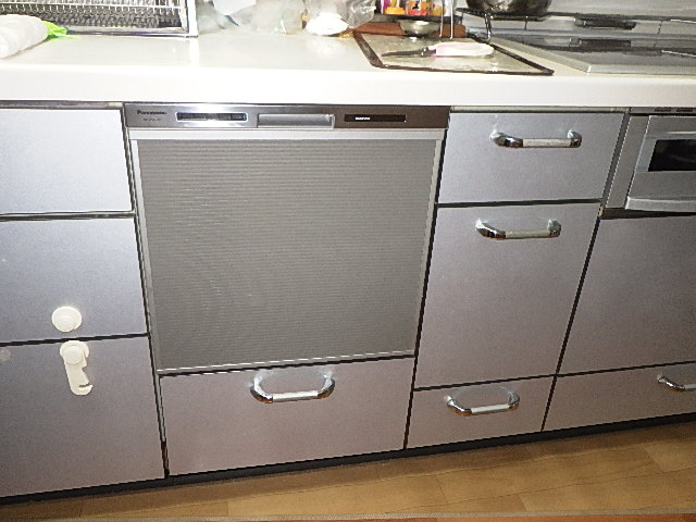 ビルトイン食洗器を交換しました