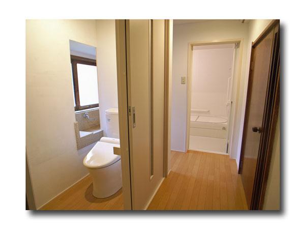 浴室・洗面室・トイレをリフォームしました