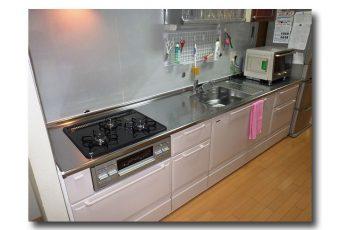 キッチンをリフォームしました