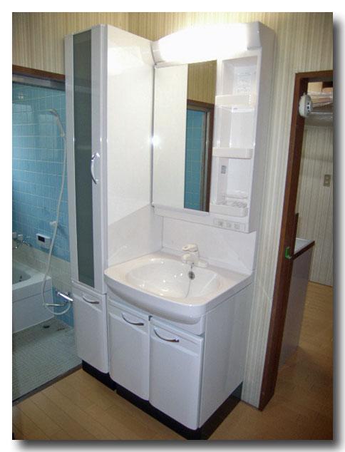洗面室をリフォームしました