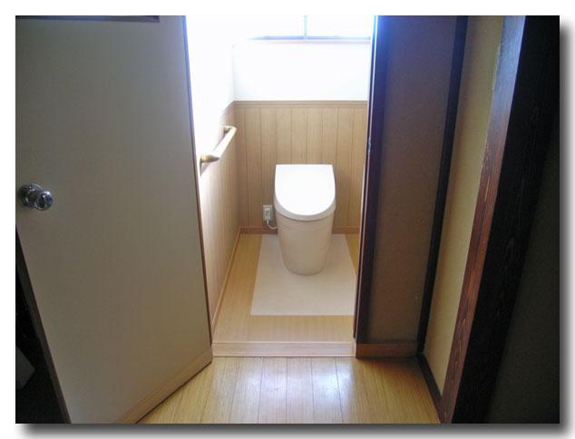 トイレをリフォームしました