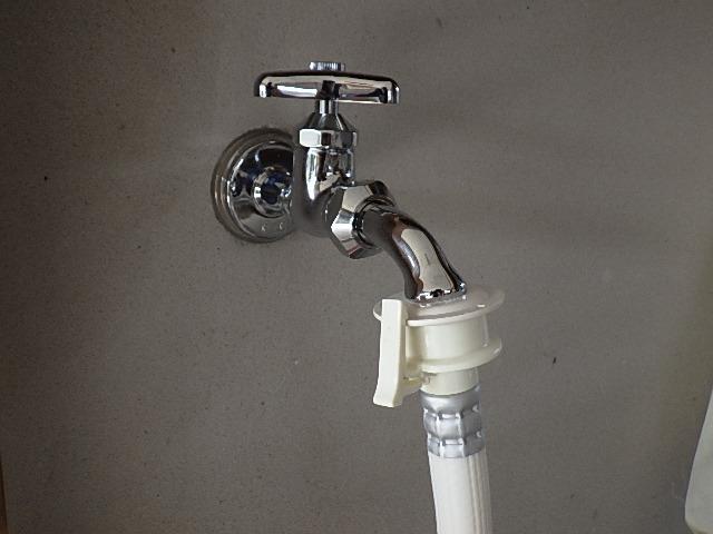 氷見市の小工事 「洗濯機用の水栓交換」