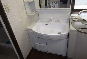 氷見市の洗面化粧台交換リフォーム