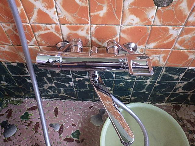 お風呂シャワー交換工事
