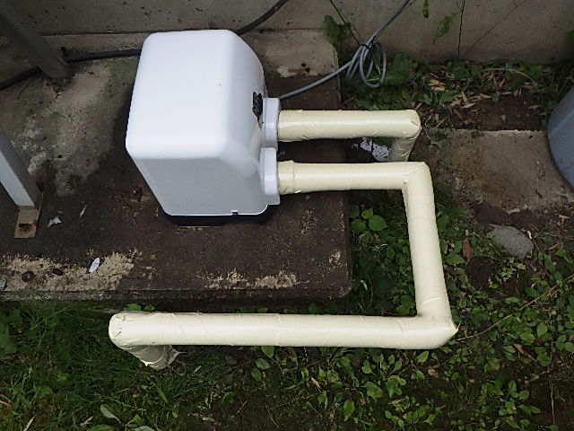 氷見市の井戸ポンプ交換リフォーム
