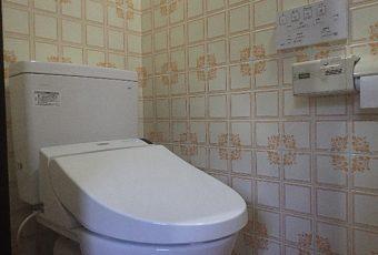 氷見市のトイレリフォーム 「30年使用した便器を最新トイレに!節水実現」