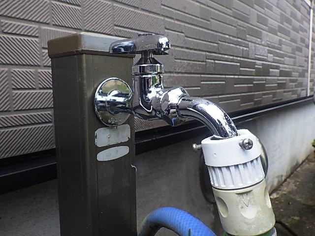 氷見市の小工事「水栓柱の水栓交換」