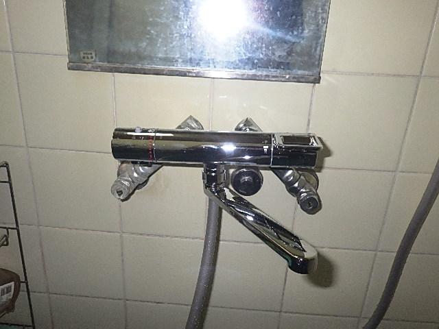 氷見市の小工事 「お風呂のシャワー交換」