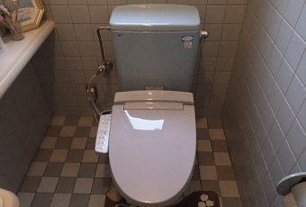 氷見市のトイレリフォーム 「普通便座からシャワートイレへ!快適あたたか」