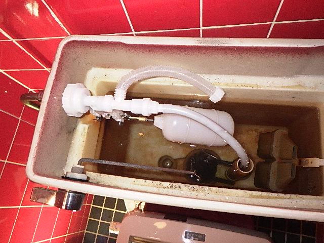 氷見市の修理・お直し 「トイレの水が止まらない修理」