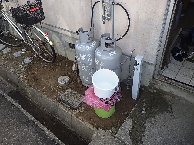 氷見市の小工事 「水栓柱を新しく設置しました」