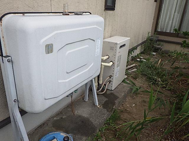 氷見市の給湯器リフォーム 「石油給湯器の取替」