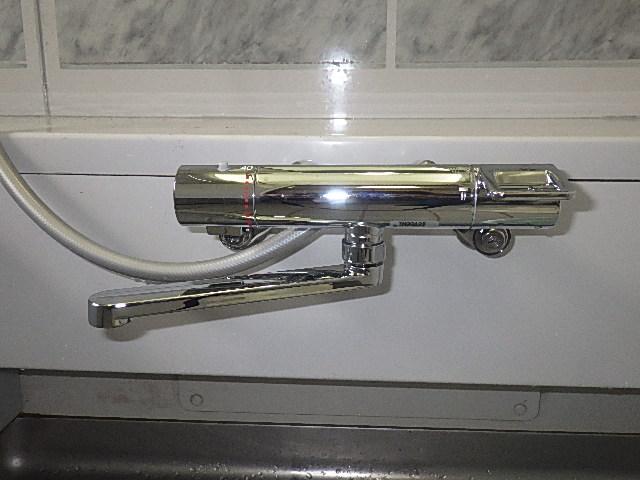 氷見市の小工事 「サーモシャワー水栓交換」