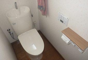氷見市のトイレリフォーム 「トイレ交換♪温風乾燥&自動洗浄付!」