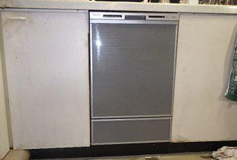 氷見市の食洗器交換工事 「パパっと3時間で工事完了♪」