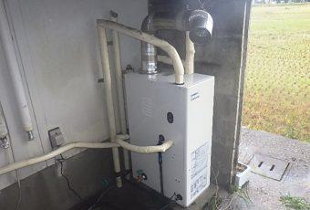 氷見市の給湯器交換工事 「減圧式給湯器」