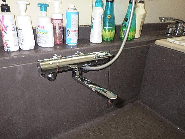 氷見市の小工事 「風呂シャワー交換」