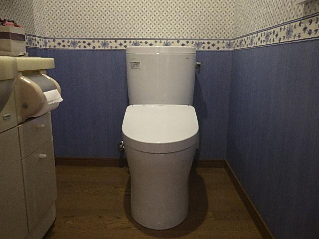氷見市のトイレ交換 「☆組み合わせトイレ☆ピュアレストEX+アプリコットF3A」