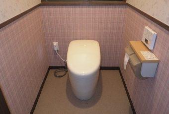 氷見市のトイレ交換 「TOTO最上級グレード ネオレスト」