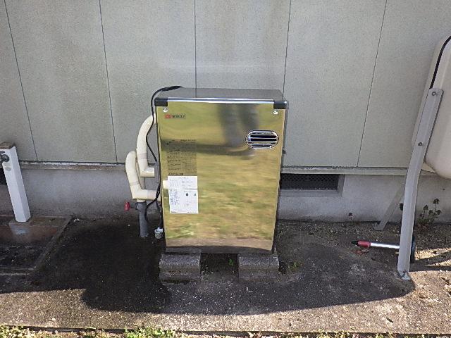 氷見市のボイラー交換 「ボイラーから水漏れ。新品交換」