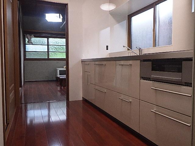 氷見市のキッチンリフォーム 「☆使いやすいシステムキッチンへ☆」