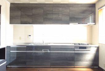 氷見市のキッチン入替工事 「こころリフォーム×クリナップ!人気のステディア☆幅365㎝☆」