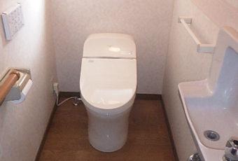 氷見市のトイレ交換 「TOTO 一体型トイレGG3」