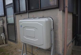 氷見市の灯油タンク交換「200L壁ピタ」