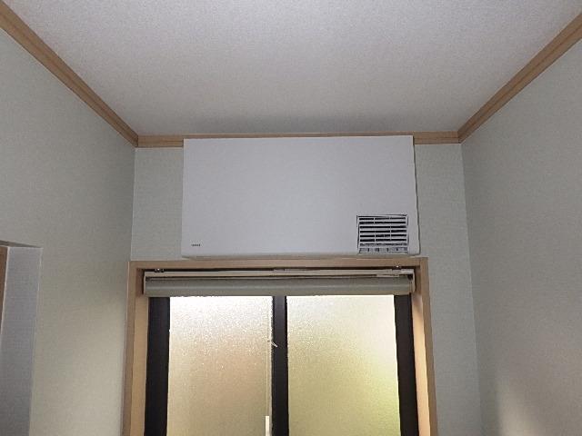 【氷見市】脱衣室用暖房器具取付