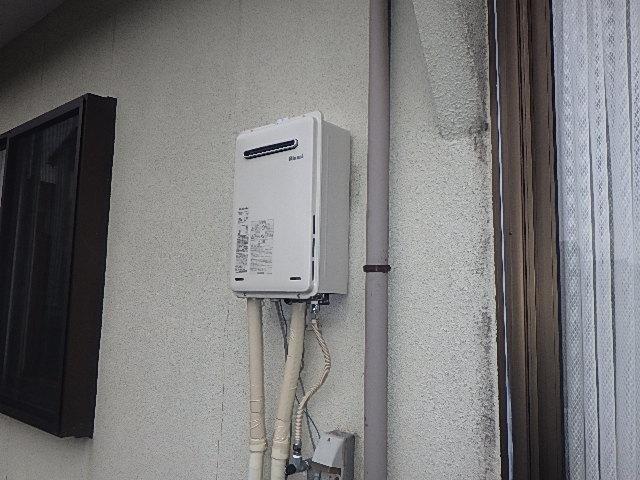 【氷見市】ガス給湯器交換