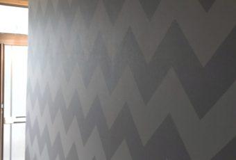 新設した壁クロスとても素敵です☆