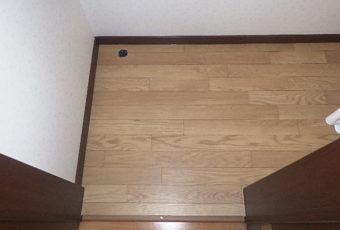 クッションフロアが張られて、とても綺麗な床☆