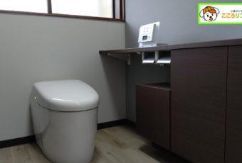 【氷見市】和式トイレ→洋式トイレ 《最高峰ネオレスト×空間デザイン》