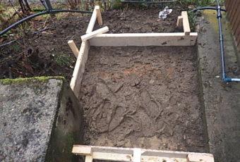 土間施工準備