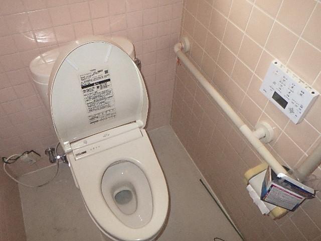 トイレ詰りトラブルに駆け付け
