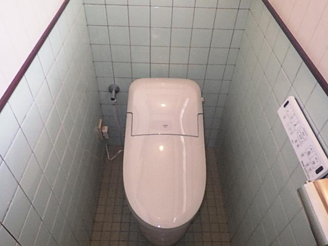 トイレ交換リフォーム完成☆