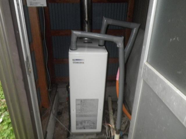 灯油ボイラー交換工事