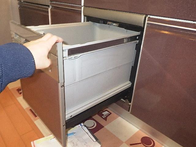 ビルトイン食洗器交換の現場調査