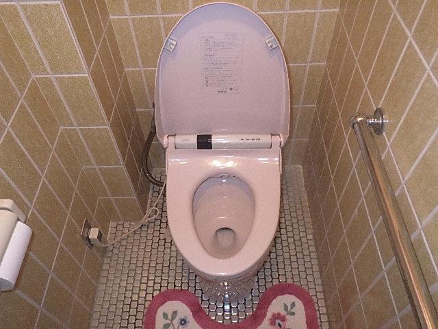 トイレ交換の現場調査