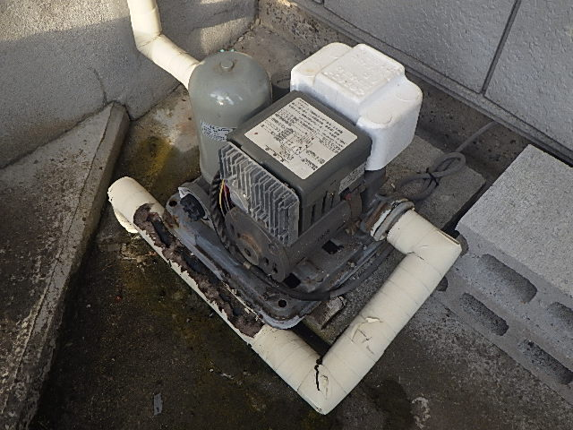 20年前に取り付けさせて頂いた井戸ポンプの修理