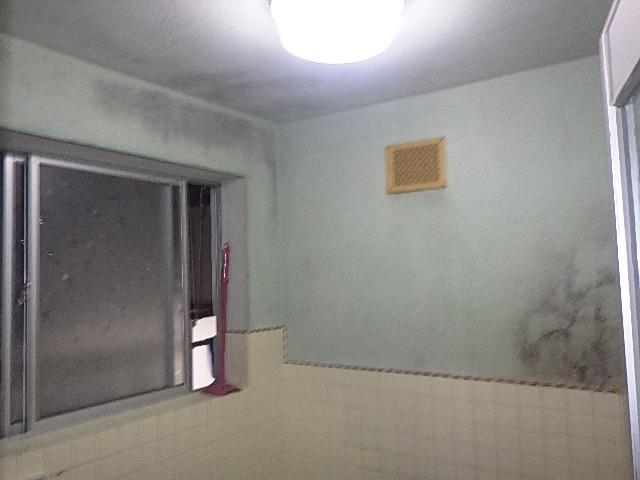 浴室リフォームの現場調査