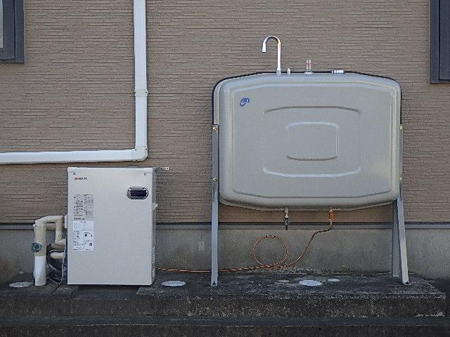 ボイラー・灯油タンク交換工事