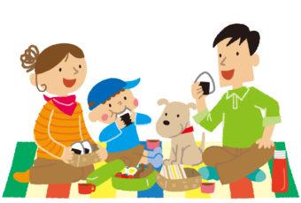 家族でピクニック