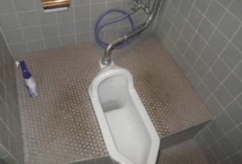 和式→洋式トイレの現場調査へ