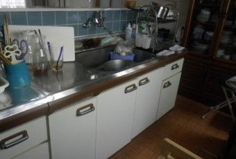 氷見市のキッチン入替工事