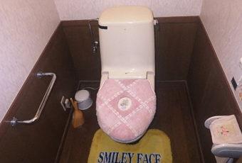 トイレ修理の現場調査へ