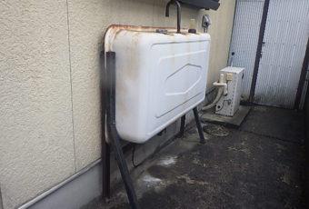 氷見市の灯油タンク現場調査